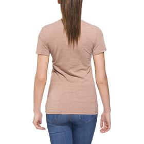 POLER Venn T-Shirt Dames, bruin